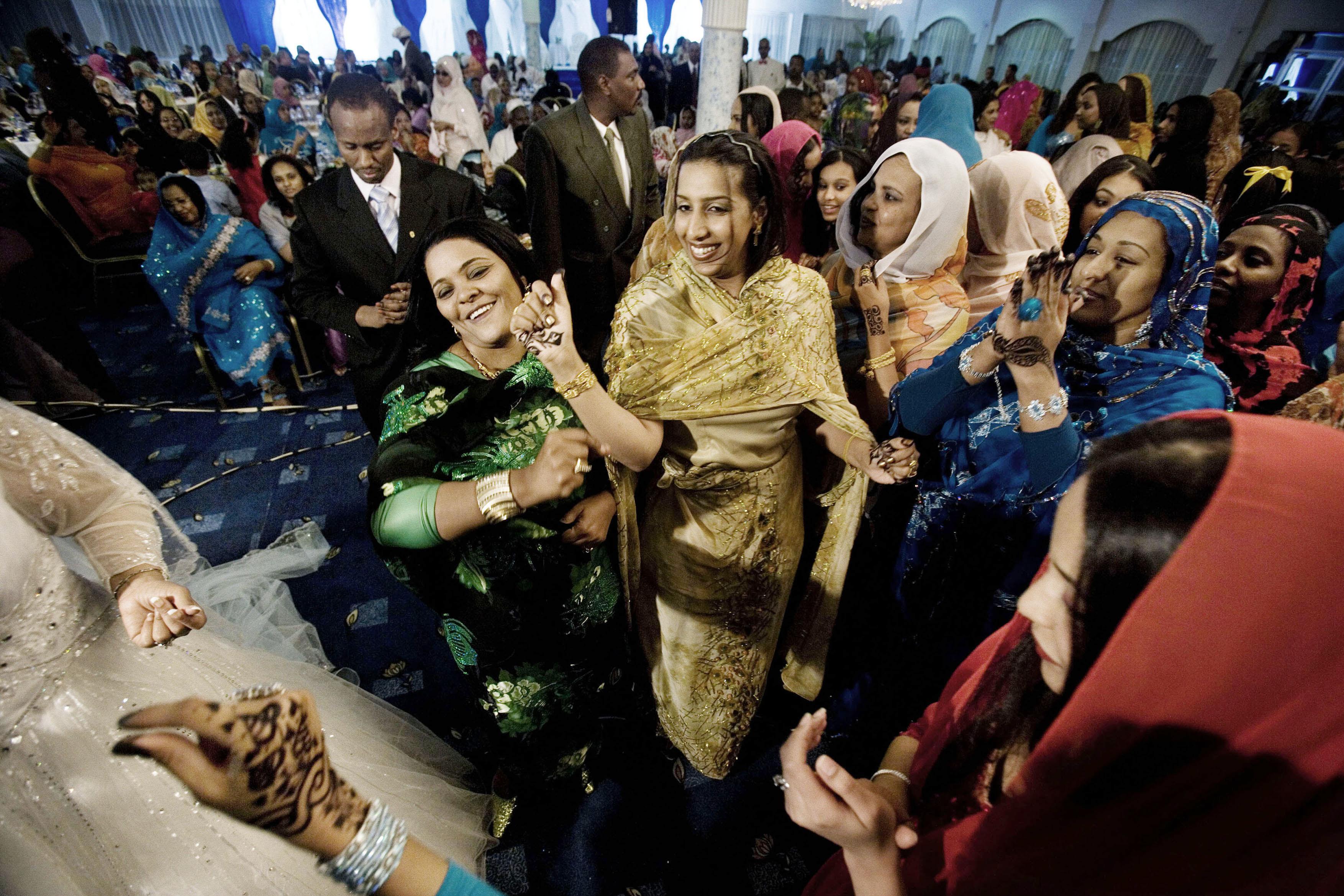 Sudanese wedding rituals and traditions - Khartoum Sudan January 11 2007